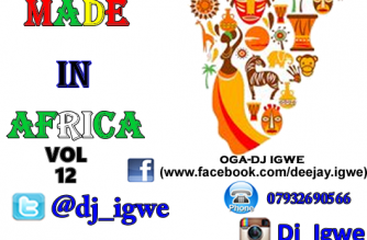 Made in Africa Vol 12 (Audio & Video) by Dj Igwe